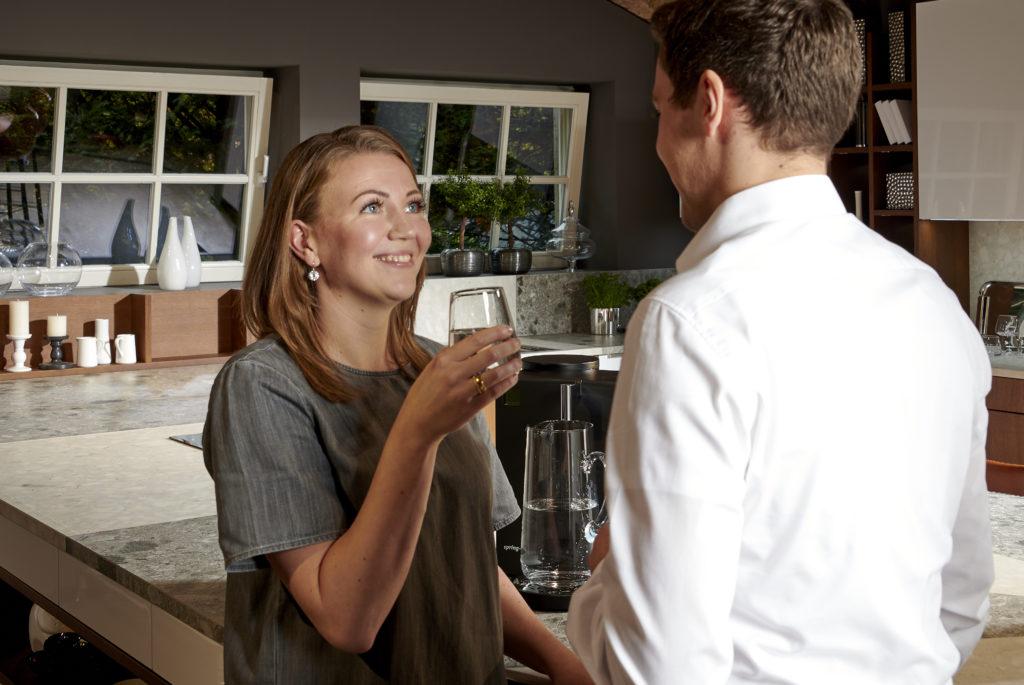 spring-time classic Wasserfilter für junge Paare